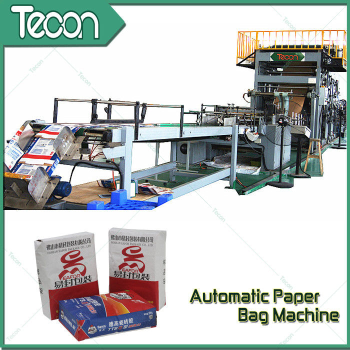 High Speed Automatic Chemical Kraft Paper Cement Bag Making Machine
